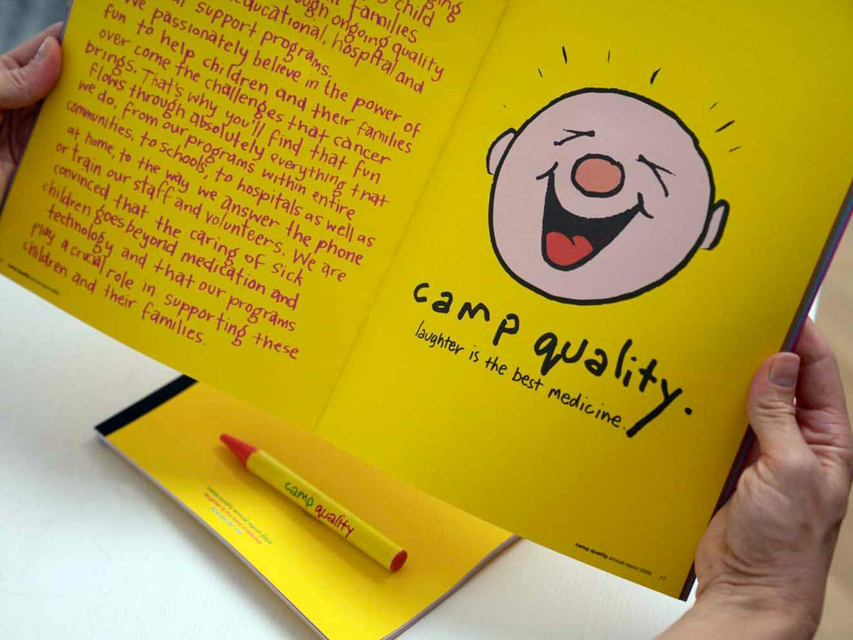 Camp Quality Brand Case Study